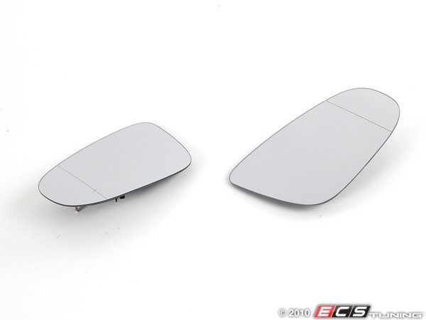 ES#1892098 - 5K0898002 - Blind Spot Mirror - Set (Heated) - See the world in your mirrors with this new set of blind spot mirrors  - Genuine European Volkswagen Audi - Volkswagen